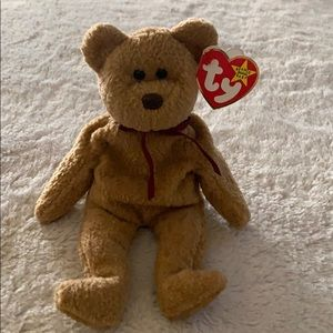 TY BEANIE BABY RETIRED CURLY